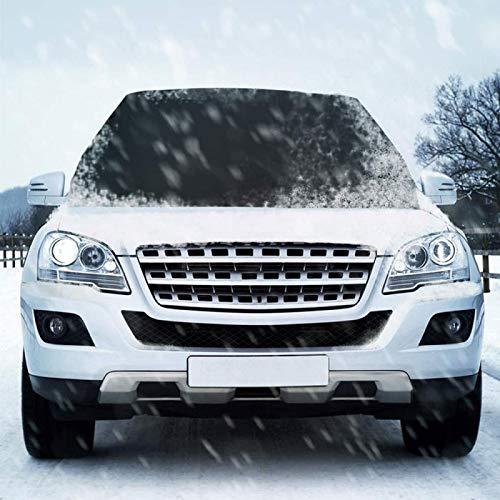 wjy Cubiertas Protectoras De Parabrisas De Automóvil Protección contra Hielo Y Nieve Protección contra El Polvo del Viento Y Calor A Prueba De Agua,210x125cm