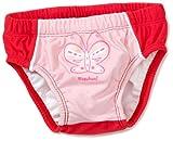 Playshoes Unisex - Baby Babybekleidung/ Badebekleidung UV-Schutz nach Standard 801 und Oeko-Tex Standard 100 Badehose Schmetterling mit Windeleinsatz 460064, Gr. 74/80, Rosa (900 original)