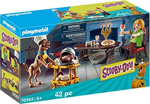 PLAYMOBIL SCOOBY-DOO! 70363 Abendessen mit Scooby, Ab 5 Jahren
