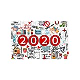 500/1000PCS Jigsaw - Puzzle Wall Art & Puzzle Decompression Toy - for Kids & Adult to Memorialize This Weird Year