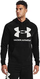 [アンダーアーマー] UAライバルフリース フーディー ビッグロゴ UA Rival Fleece Big Logo HD メンズ