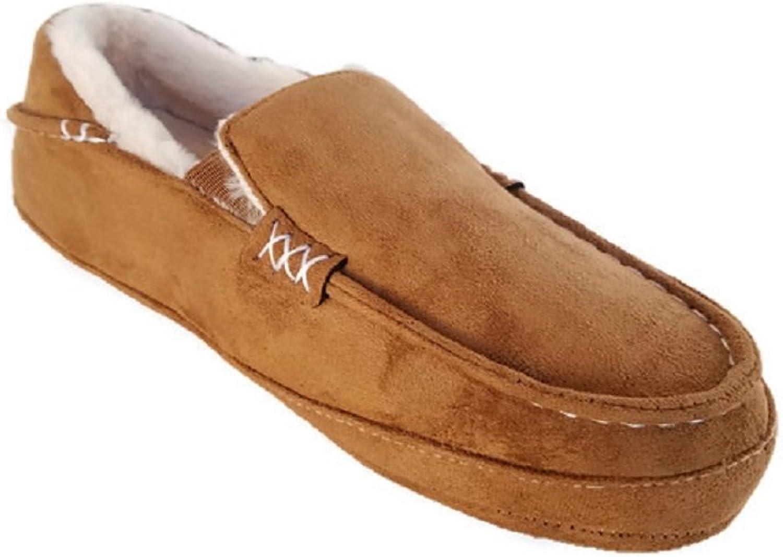 Steve Madden PComfeey herr herr herr Inoor  utomhus Fur Lined Slippers (Tan)  officiell hemsida