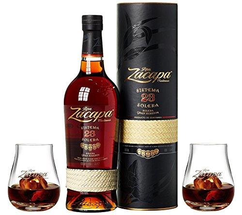 Ron Zacapa Sistema Solera 23 Jahre Rum, inkl. 2x Zacapa Glas (1 x 0.7 l)
