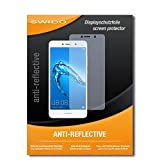 SWIDO Schutzfolie für Huawei Y7 [2 Stück] Anti-Reflex MATT Entspiegelnd, Hoher Festigkeitgrad, Schutz vor Kratzer/Bildschirmschutz, Bildschirmschutzfolie, Panzerglas-Folie