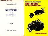 Pierre Klossowski. Nietzsche et le cercle vicieux