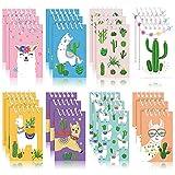 24 Blocs de Notas Mini de Llama Suministro de Fiesta de Cumpleaños de Cactus Llama Decoraciones Mexicanas de Cuaderno Set de Diario en Espiral Regalo de Bolsillo de Llama de Fiesta a Granel