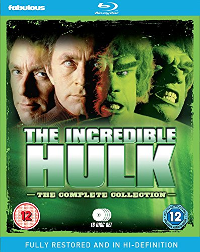 The Incredible Hulk The Complete Collection (16 Blu-Ray) [Edizione: Regno Unito] [Edizione: Regno Unito]