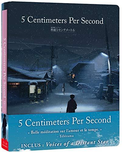 5 Centimeters per Second Combo Bluray [Édition SteelBook Blu-Ray + CD BO]
