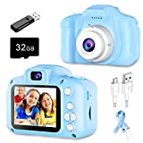 CHAREX Kids Camera Toy HD 1080P - Portable Camera with 32GB SD Card, for 3-12 Year Old Boy & Girl