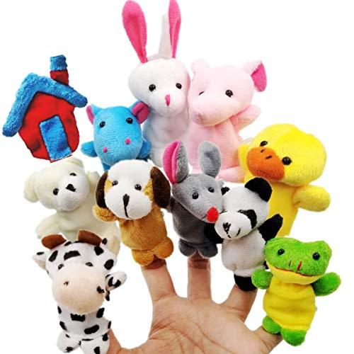 JZK 11 Animal finger puppet set ...