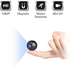 $36 » Mini Spy Hidden Camera, KFF HD 1080P Portable Small Secret Covert Nanny Cam with Night Vision and Motion Detection, Ultra Tiny Wireless Security Surveillance Camera for Indoor/Outdoor
