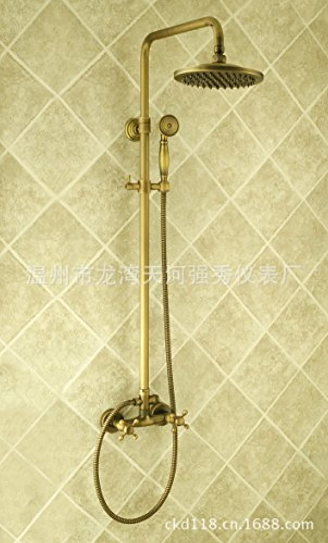 Caribou@Bad Kupfer Brausegarnitur Antik europischen Stil minimalistisch Dusche Wasserhahn