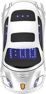 Sports Car Model F15 Mini Flip Phone for Ferrari Car-Shape Phone Flip Mobile Phone Dual SIM Card Phone For Kid, Support SM...