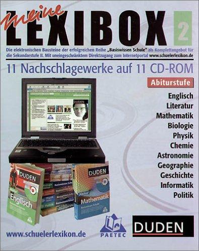 Lexibox 2. 11 CD-ROMs für Windows 98SE/MacOS/Linux