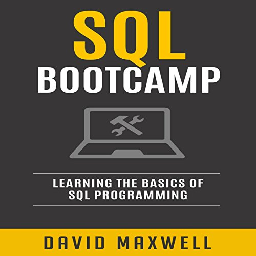 SQL: Bootcamp audiobook cover art