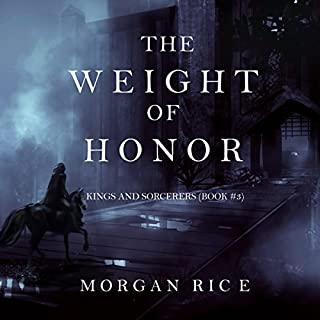 The Weight of Honor audiobook cover art