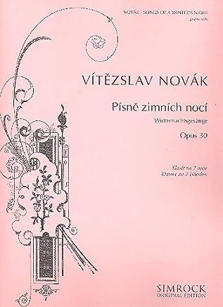 Winter nachtsge saenge Opus.30: per pianoforte