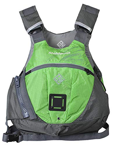 Learn More About Stohlquist Edge Life Jacket, Lime Green/Gray, Large/X-Large