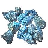 UMHUAOOL Piedra Natural 100 g de Piedras Preciosas ásperas de apatito Natural de Cristal de Piedra Rocas de Piedra cruda, espécimen de Piedra, espécimen de Piedra Mineral joyeria