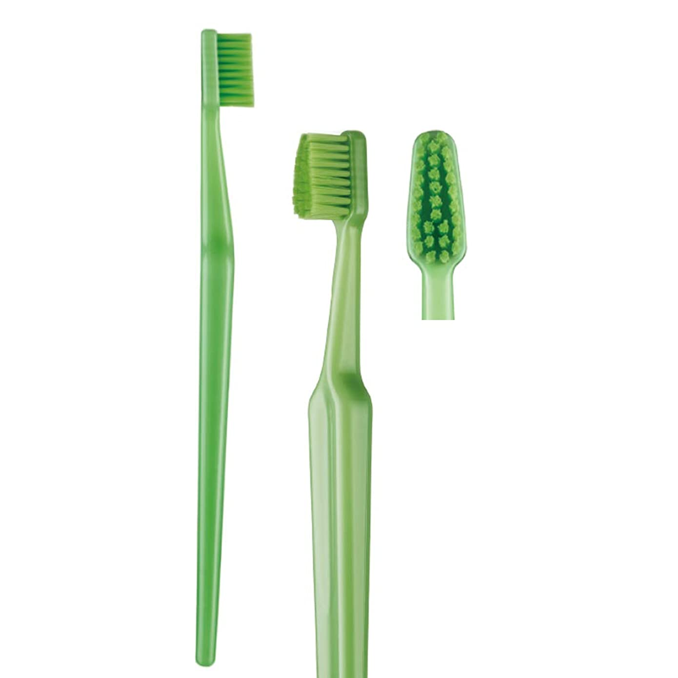 歯科専売品 大人用歯ブラシ TePe GOOD (グッド) コンパクト ソフト(やわらかめ) ヘッド中 1本