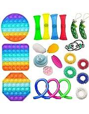 ZhaZhaMeng Sensory Fidget regolato giocattoli di distensione della tensione e anti-ansia Strumenti Bundle sensoriali Giocattoli Set sensoriali terapia per l'ADHD Giocattoli autismo Stress Ansia