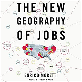 The New Geography of Jobs audiobook cover art