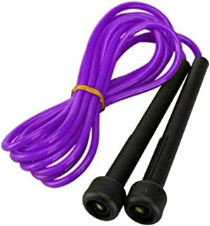 Plastic Skipping Rope Jump Speed Exercise Rope Boxing Gym Fitness Workout - Purple