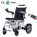 SED Sillas de ruedas eléctricas, batería de litio liviana en el scooter para discapacitados anci