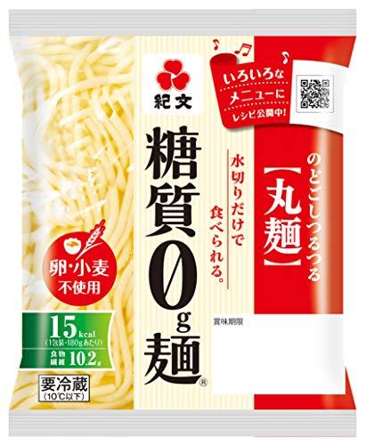 [冷蔵] 糖質0g麺 丸麺 180g