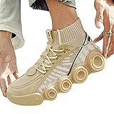N\C Scarpe Sportive Uomo Scarpe Da Passeggiata, Scarpe Da Corsa Casual Scarpe Con Suola Spessa Vecchio Estate Uomo
