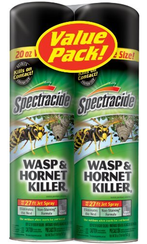 Spectracide 95865 Wasp And Hornet Killer Twin Pack