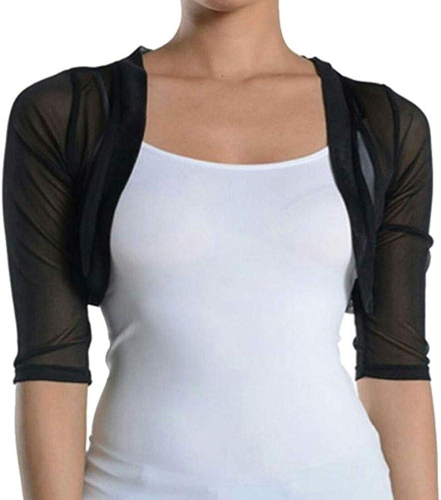 Fashion Limited time trial price Secrets Junior`s free shipping Sheer Chiffon Bolero Shrug Jacket Cardi