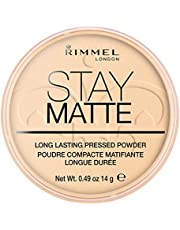 Rimmel London Stay Matte Long Lasting Pressed Powder Transparant