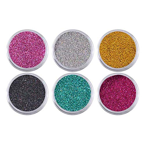Nouvelle poudre à ongles Neon Mirror Glitter Effet Mirror Rainbow Crystal Opal(New Nail Powder Neon Mirror glitter Mirror Effect Rainbow Crystal Opal)