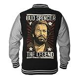 Bud Spencer Herren Legend College Jacket (schwarz) (XL)