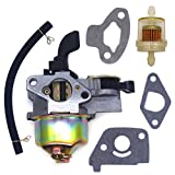 FitBest Carburetor with Fuel Line Filter for 97CC 2.8HP Mini Baja Doodle Bug db30 Motovox MBX10 MBX11 Mini Pit Bike 3/5' Air Intake