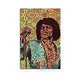 DSGFR James Brown Legende Superstar Poster, dekoratives