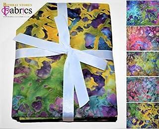 100/% algodón-cuarto Gordo Tela Artesanal Paquete Quilting Patchwork Floral Flores A