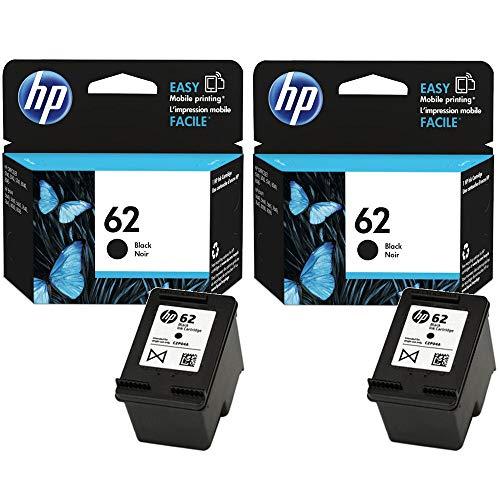 HP 62nero cartuccia d' inchiostro originale confezione doppia (2x nero)
