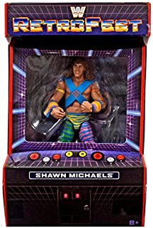 WWE Retrofest Shawn Michaels Exclusive Retro Elite Action Figure