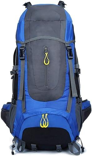 LIW 4300 Cadre intérieur Sac à Dos Daypack réglable imperméable à l'eau ultralarge capacité extérieure pour Backpacking randonnée Camping (Bleu)