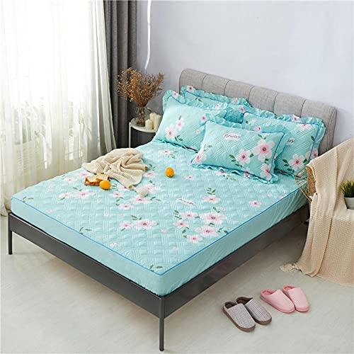 CYYyang Unterbett Soft-Matratzen-Topper, Matratzenschutz Boxspring-Betten geeignet Einzelne Stück Bettlaken verdickt-19_180cmx200cm