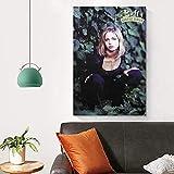 Affiche d'art en Soie Buffy Contre Les Vampires Affiche De Télévision Art Mural Impressions sur Toile Et Affiches Photos pour Salon Décoration De Chambre à Coucher Moderne sans Cadre