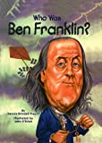 Who Was Ben Franklin? black and white printers May, 2021