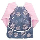 Hi Sprout Unisex Infant Toddler Baby Super Waterproof Sleeved Bib, Reusable Bib with Sleeves&...