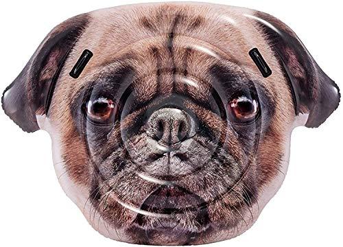 TOYLAND Gug Pug Face Lilo - 1.73M x 1.30M (68 'x51) Summer Beach & Pool Lilo