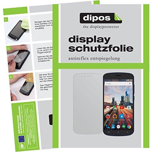 dipos I 6X Schutzfolie matt kompatibel mit Archos 50e Helium Folie Bildschirmschutzfolie