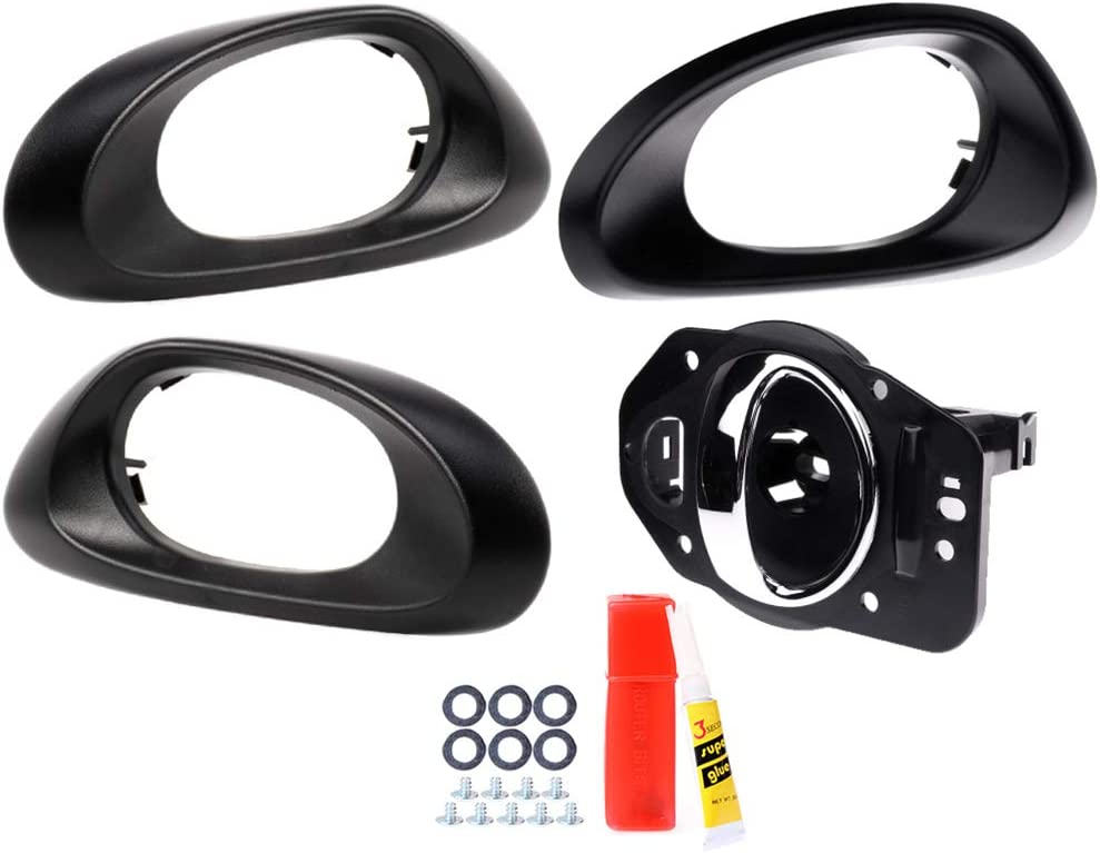 CTCAUTO Interior Door Handles Free shipping anywhere service in the nation Driver Side 20 Passenger Fit for