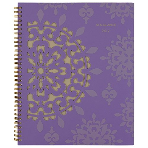 """AT-A-GLANCE Weekly / Monthly Appointment Book / Planner 2017, 8-1/2 x 11"""", Vienna (122-905)"""