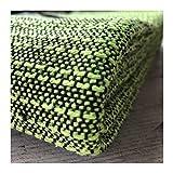 Craft Story Decke YARA I Uni apfelgrün aus 100% Baumwolle I Tagesdecke I Sofa-Decke I Couch-Überwurf I Bedspread I Plaid I Picknickdecke I Läufer I Nutzdecke I 170 x 220cm - 4